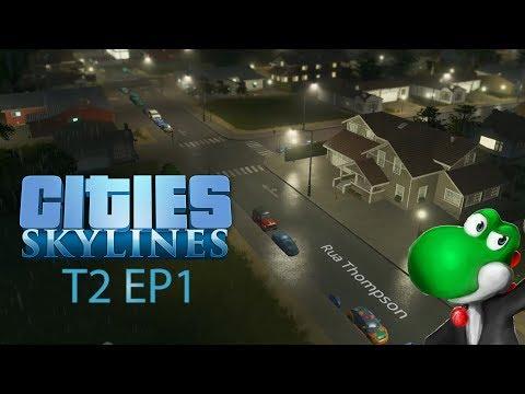🏡 Cities Skylines T2 🏭EP1: A fundação