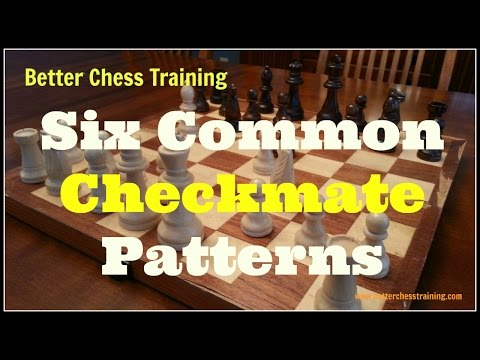 Six Common Checkmate Patterns You Should Know