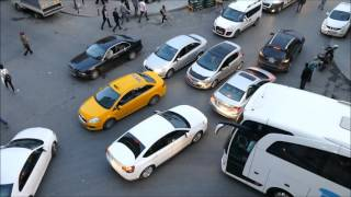 Istanbul Traffic Madness
