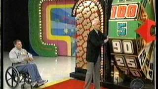 The Price is Right Bob humilates himself at the Big Wheel
