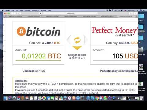 BITCOIN DEPOSIT TO PERFECT MONEY 2020