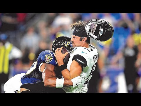 Biggest Hits From Non Defenders in football – NFL Compilation