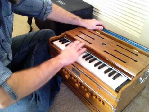 Paloma Custom Made 4 Reed Set Teak Harmonium