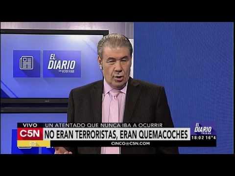 C5N - El Diario: Editorial de Victor Hugo