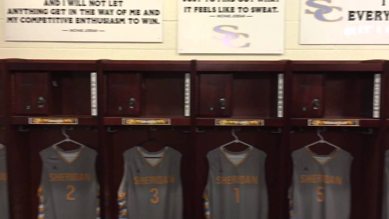 What Is A Basketball Locker Room
