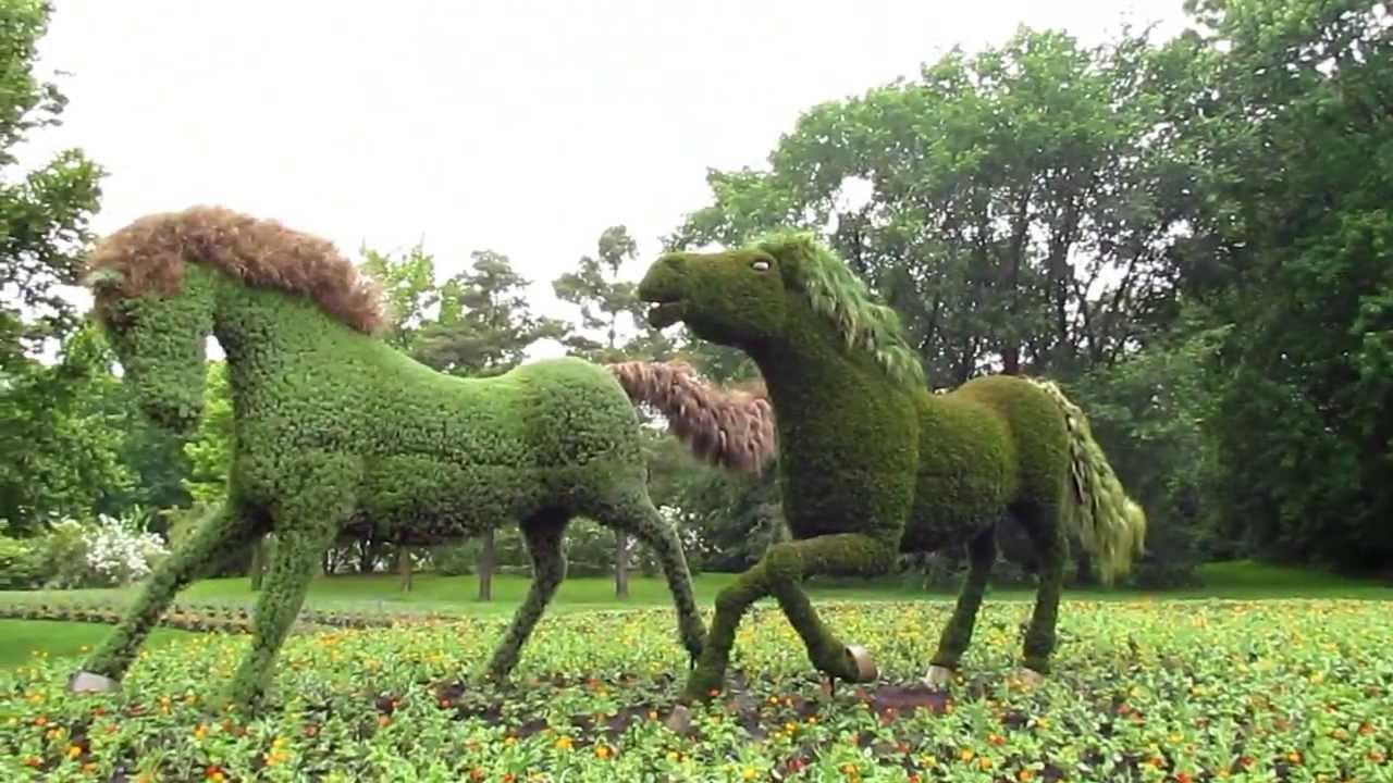 Les mosaicultures 2013 montr al youtube for Au jardin de fanny montreal