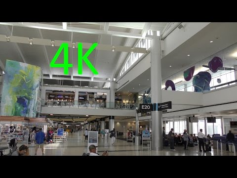 A 4K Tour of Houston's George Bush Intercontinental Airport (IAH)