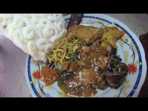 Indonesia Surabaya Street Food 2095 Part.1 Madura Mix Rice Nasi Campur Madura YDXJ0629