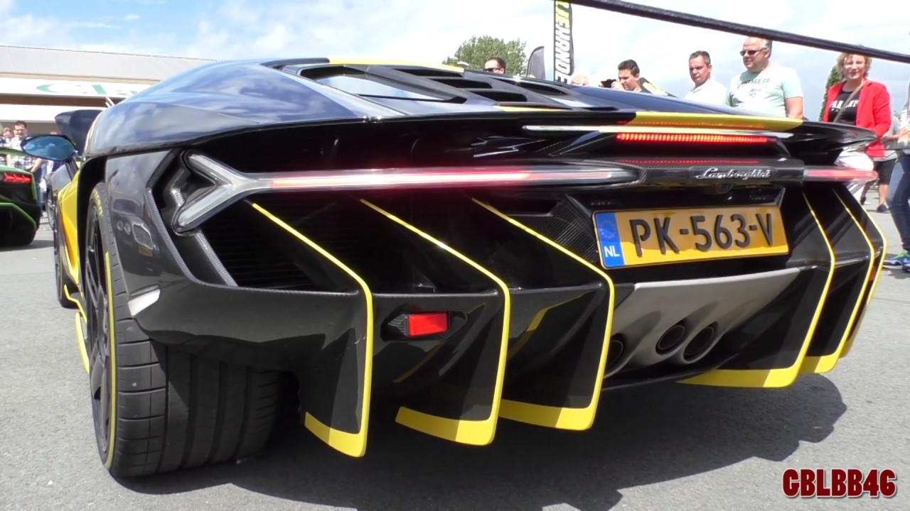 Lamborghini Centenario Exhaust Sound Acceleration Revving Youtube