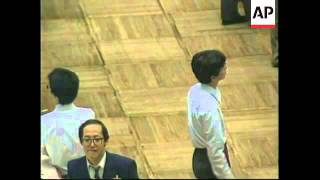 JAPAN: TOKYO: STOCK MARKET REACTION TO US DOW JONES LOSSES