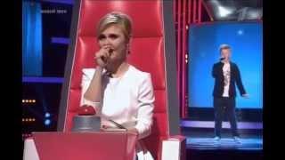 """Лев Суворов """"Я вернусь"""" шоу Голос Дети 2 (2 выпуск 20.02.2015)"""