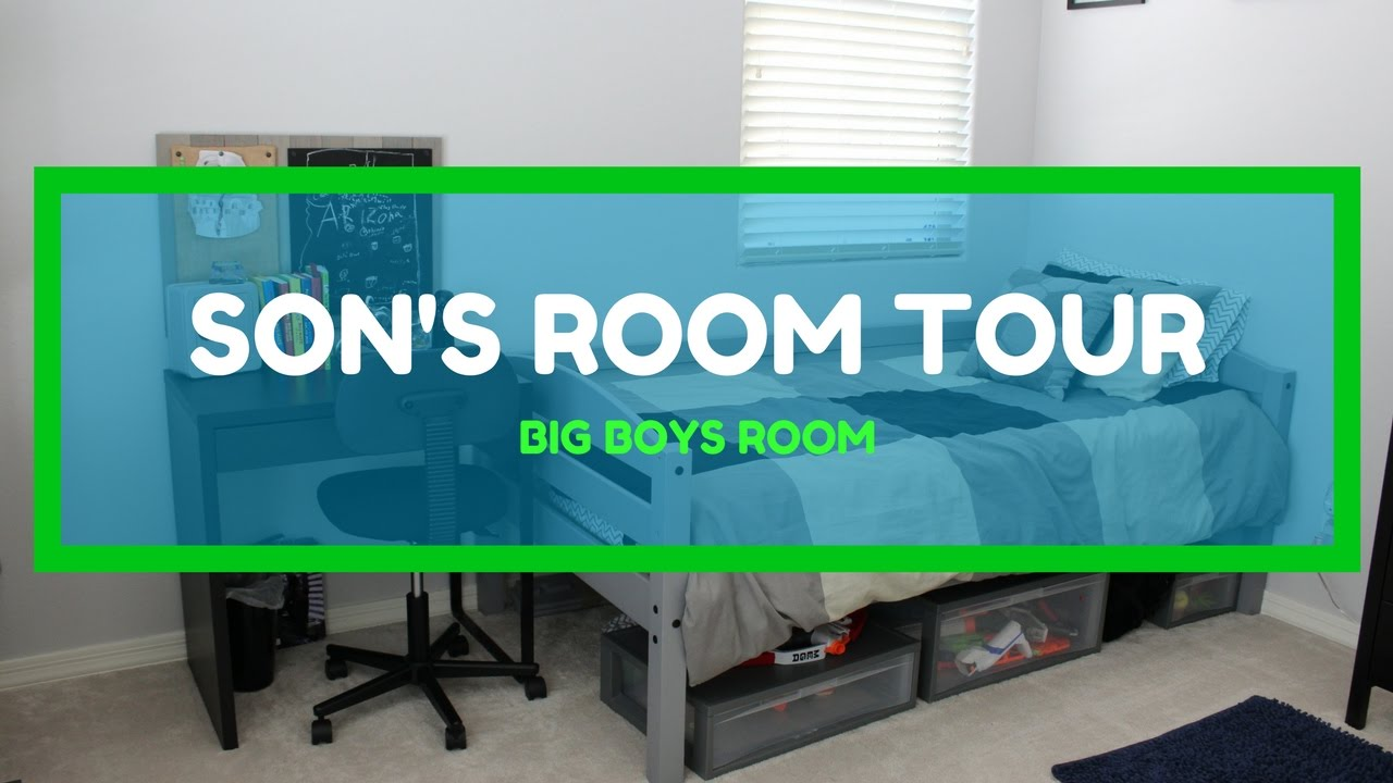 Son S Room Tour My 10 Year Old Boys