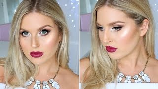 Sultry Makeup For The Holidays! ♡ Winter Frosty Makeup Tutorial thumbnail