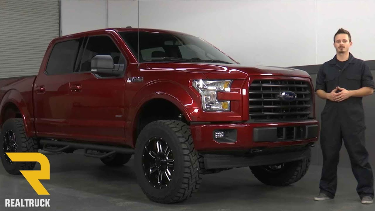 """How to Install the Havoc Offroad 4"""" Lift Kit on a 2017 ..."""