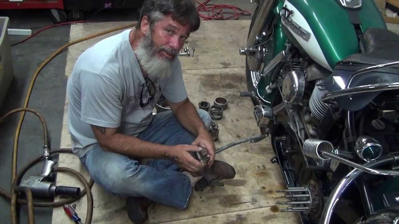 Hunting Harleys 4 Speed Clutch Assembly Youtube 1980 Fxb Shovelhead Wiring Diagram