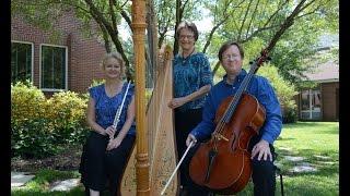 Shenandoah- Adagio Trio- harp, flute, cello