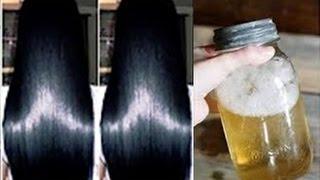 Faça isto antes de dormir e 1 vez por semana: cabelos mais lindos você nunca viu
