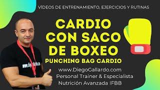 Ejercicio Cardio con Saco de Boxeo - Punching Bag Cardio