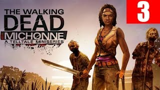 The Walking Dead Michonne Episode 1 Walkthrough Part 3 In Too Deep No Commentary PC HD 60 FPS
