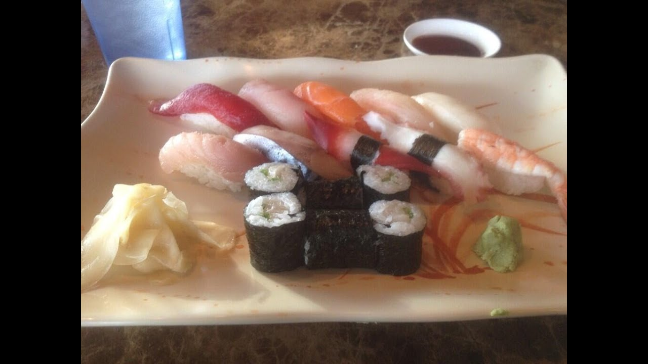 review origami sushi silverdale wa youtube