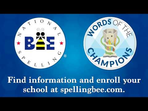 Scripps National Spelling Bee Word List 2019 2020.Scripps National Spelling Bee Debuts Enhanced Study Resource