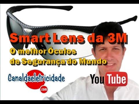 735b8bdec ÓCULOS DE SEGURANÇA QUE ESCURECE SOB LUZ UV - YouTube