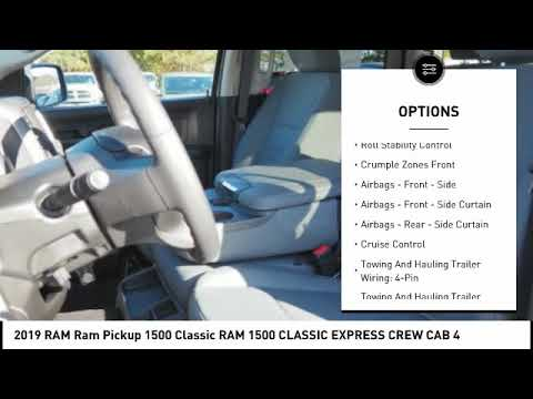 2019 RAM Ram Pickup 1500 Classic Winston-Salem NC R8876
