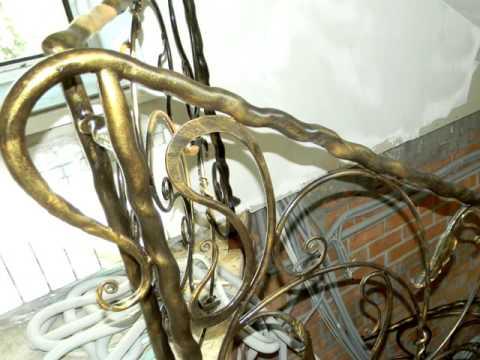 Как сделать оригинальные красивые поручни для перил из трубы круглой, ограждение лестницы в доме
