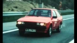 Autotest 1981 - vw scirocco