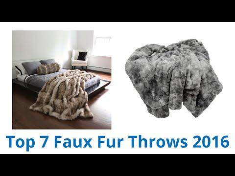 7 Best Faux Fur Throws 2016