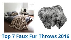 7 Best Faux Fur Throws 2016