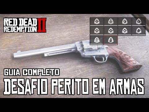 RED DEAD REDEMPTION 2 - DESAFIOS PERITO EM ARMAS (GUIA COMPLETO) thumbnail