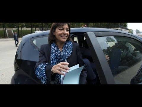 Quand Anne Hidalgo Se Déplace Uniquement En Voiture à Paris... Et En Sens Interdit !