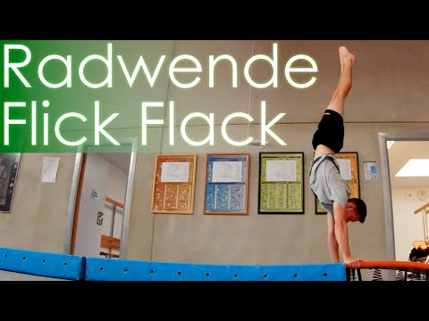 Radwende Flick Flack Salto lernen - Tutorial