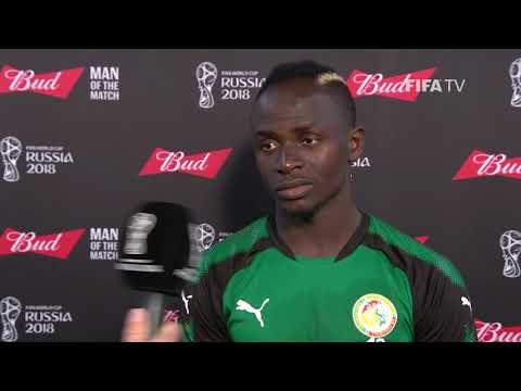 Sadio MANE (Senegal) - Man of the Match - MATCH 32