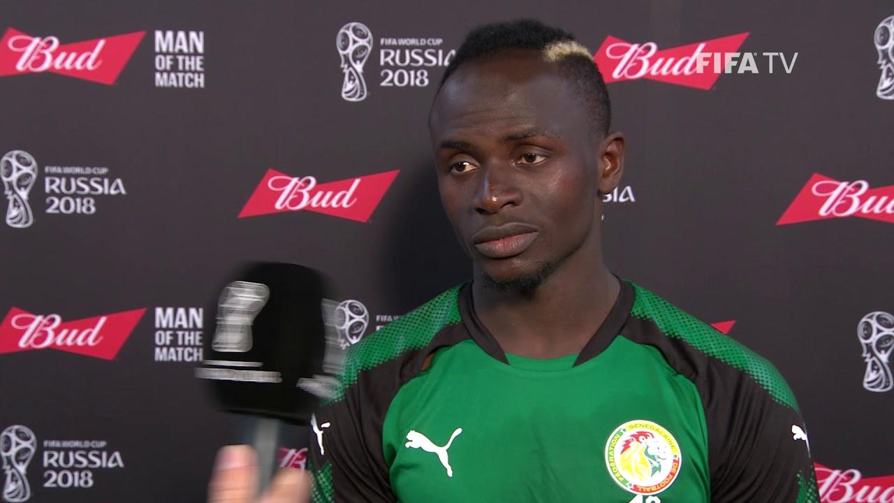 Sadio Maen Man of the match