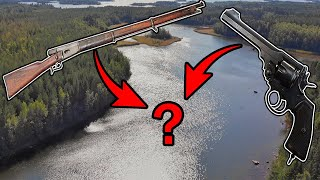 Did Finnish Rebels throw Weapons into This Lake in 1905? -magnet fishing Finland
