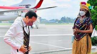 Download Presiden Jokowi Tiba di Jayapura, 1 Oktober 2021