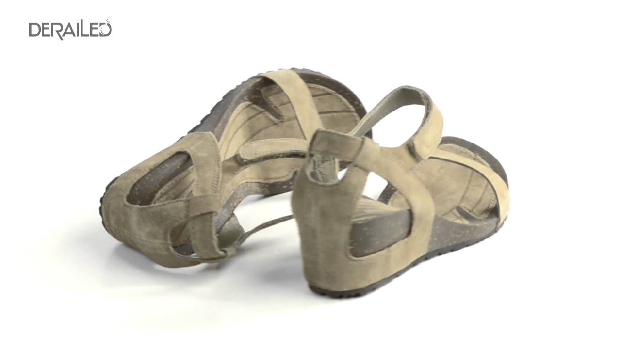 55f2d291519d Teva Cabrillo Strap Wedge Sandals - Suede (For Women) - YouTube