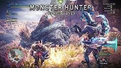 Monster Hunter World - PC Playthrough Highlights