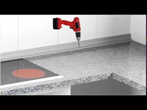 Como montar una cocina 04 encimera y remates youtube - Colores de granito para encimeras de cocina ...