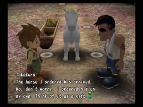 Harvest Moon A Wonderful Life Special Edition White Horse