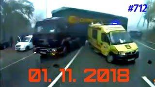 ☭★Подборка Аварий и ДТП/Russia Car Crash Compilatio#712/November 2018/#дтп#авария