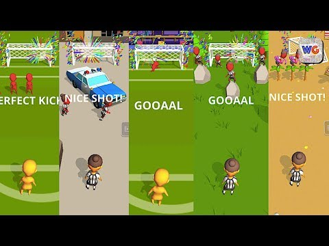 Cool Goal! Level 1-20 Soccer Gameplay - 동영상