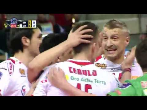 Halkbank ANKARA vs Cucine Lube CIVITANOVA FULL MATCH – #CLVolleyM 2016 PLayoff 6 Away Match