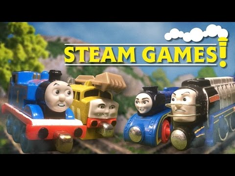 The Steam Games Compilation + New BONUS Scenes! | The Steam Games | Thomas & Friends