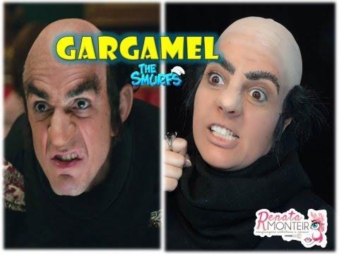Maquiagem do Gargamel