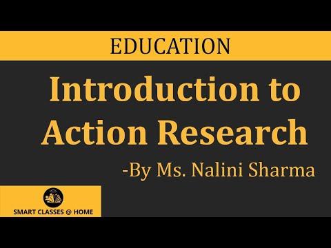 क्रियात्मक अनुसधान |Action Research(B.Ed)