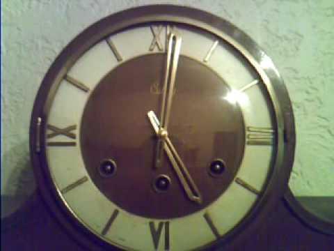 Chimes Mantel Clock - Westminster Melody - RELÓGIO CARRILHÃO DE MESA - Marca Silco