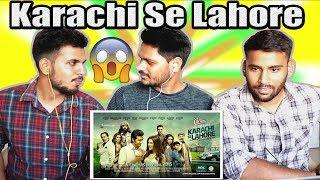Indian Reaction On Pakistani Movie Trailer | Karachi Se Lahore | Krishna Views